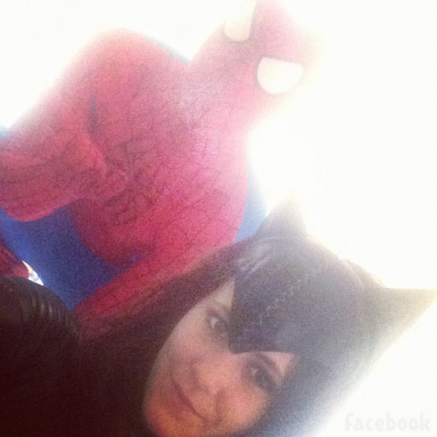 Jenelle Evans Nathan Griffith Halloween costumes Catwoman Spider-Man 2013