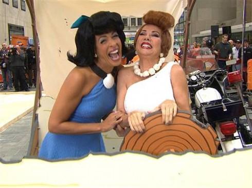 Kathie Lee and Hoda - Flintstones - Halloween 2013