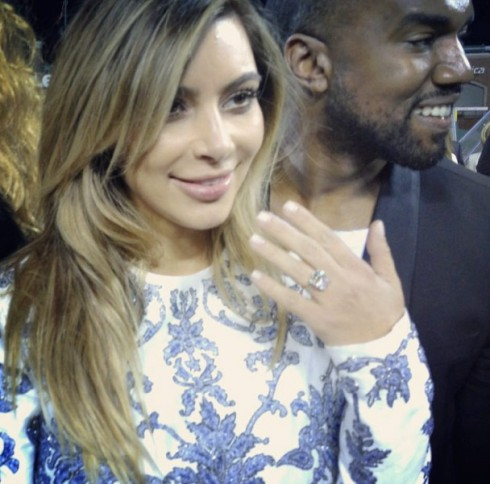 Kimye engagement ring
