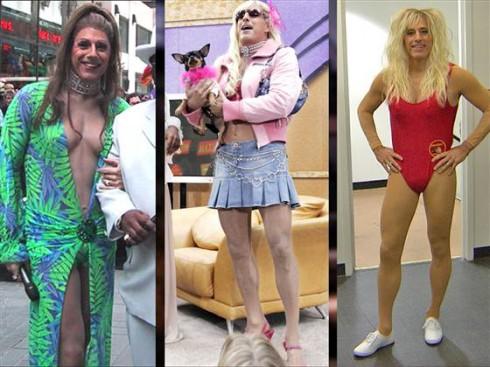 Matt Lauer Drag Halloween - Paris Hilton