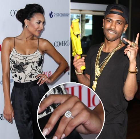 Naya-Rivera-Big-Sean-engaged