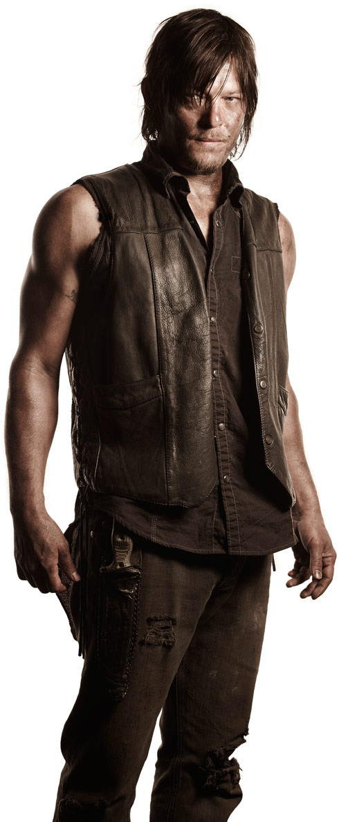 The Walking Dead Daryl Dixon played by Norman Reedus