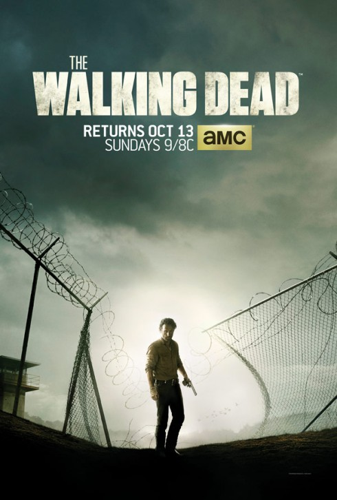 The Walking Dead Season 4 poster Rick Grimes