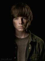 Carl Grimes offical Portrait The Walking Dead Season 4 Chandler Riggs
