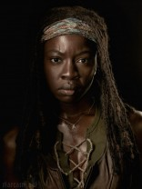 Michonne official The Walking Dead Season 4 cast Portrait Danai Gurira