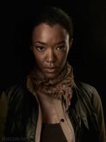 Sasha official The Walking Dead Season 4 cast Portrait Sonequa Martin-Green