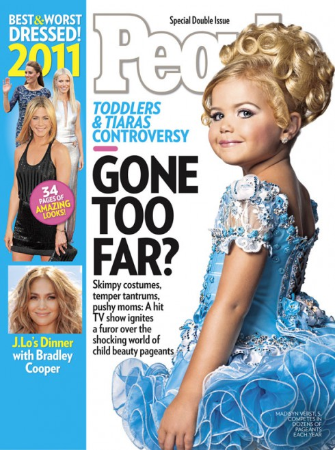 Toddlers & Tiaras People special issue cover