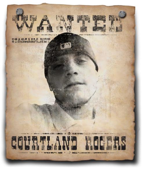 Corutland Rogers wanted poster