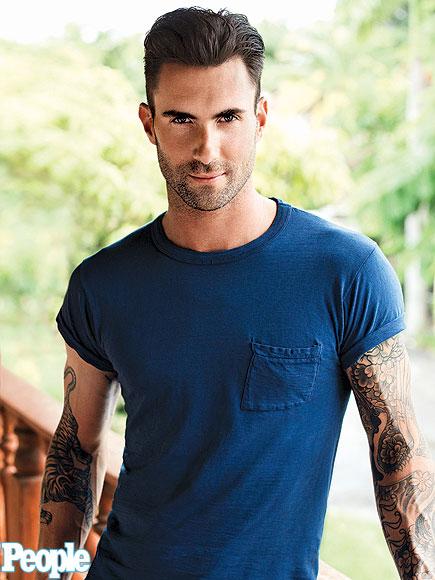 Adam Levine Sexiest Man Alive - People 2013