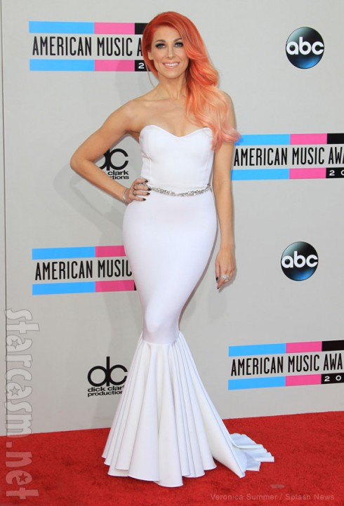 Bonnie McKee 2013 American Music Awards red carpet