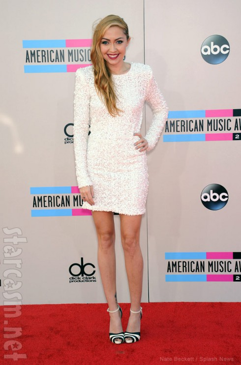 Brandi Cyrus 2013 American Music Awards