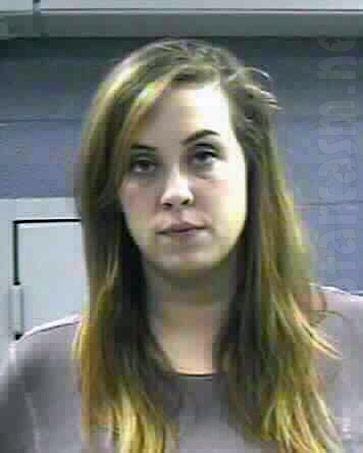 Buckwild Anna Marie Davis mugshot 2013 DUI