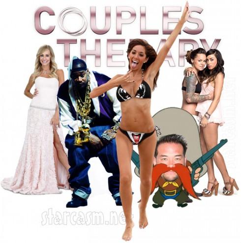 Couples Therapy Season 4 cast Farrah Abraham Taylor Armstrong Jon Gosselin Ghostface Killah Whitney Mixter and Sara Bettencourt