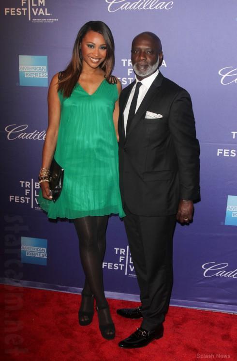 Cynthia Bailey and husband Peter Thomas