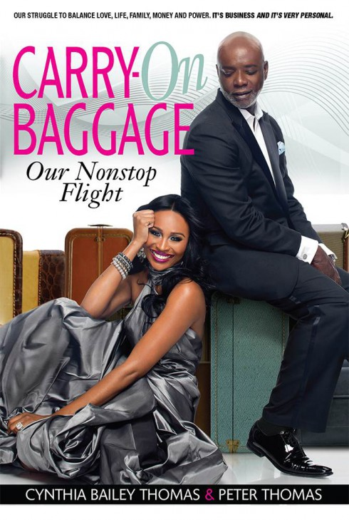 Peter Thomas and Cynthia Bailey book Carry-on Baggage: Our Nonstop Flight
