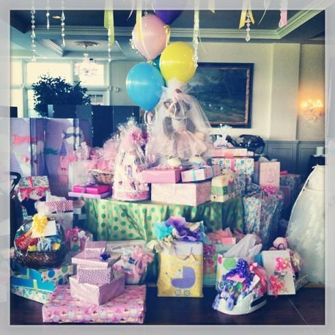 Danielle Jonas baby shower gifts
