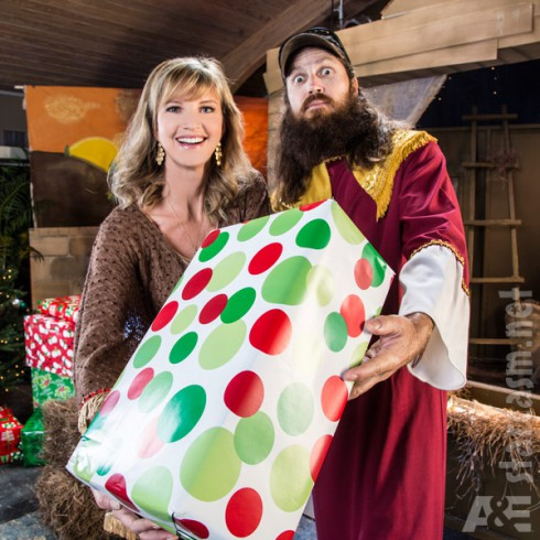 Duck Dynasty Christmas Special Missy Robertson and Jase Robertson