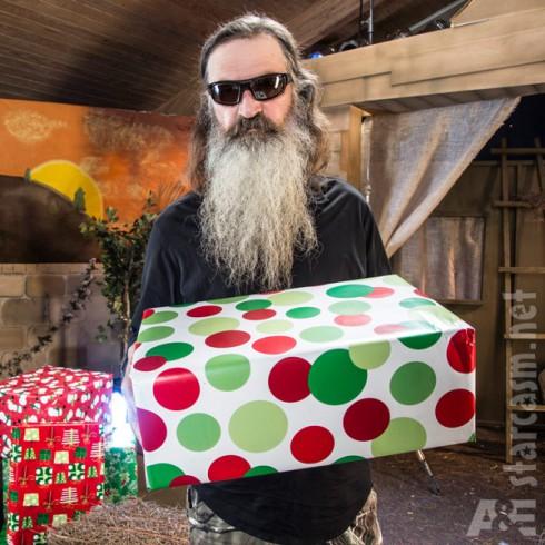 Phil Robertson Christmas present