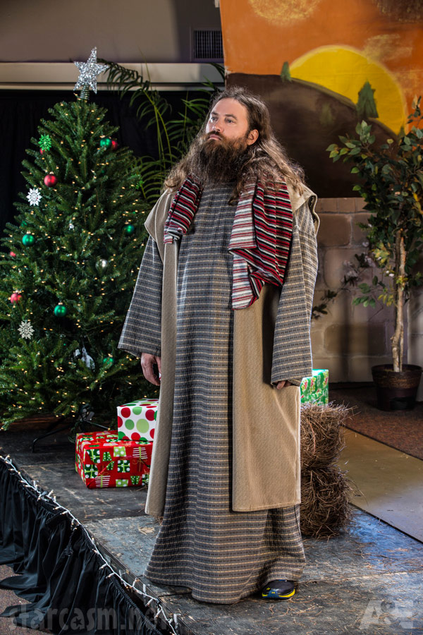 Duck Dynasty Christmas Special Willie Robertson as Joseph