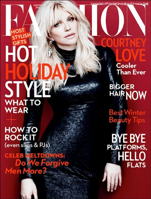 Fashion Magazine Winter 2013-2014 - Courtney Love