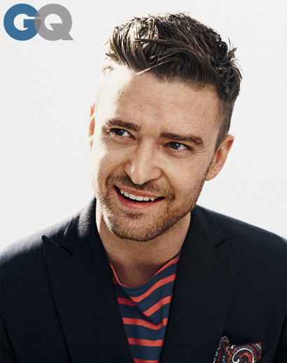 GQ - Justin Timberlake - Cover MOTY