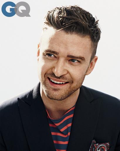 GQ - Justin Timberlake - Cover MOTY