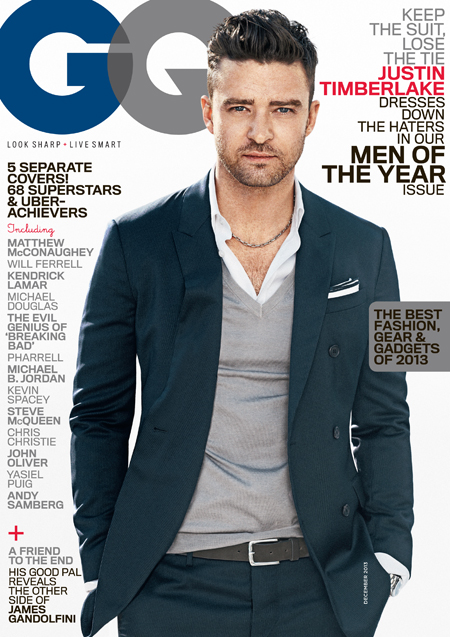 GQ - Justin Timberlake Cover - Men of the Year