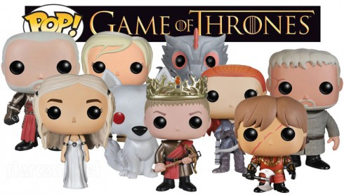 Game of Thrones POP! Vinyl Figures Series Three Tywin Daenerys Brienne Ghost Joffrey Drogon Ygritte Tyrion Hodor