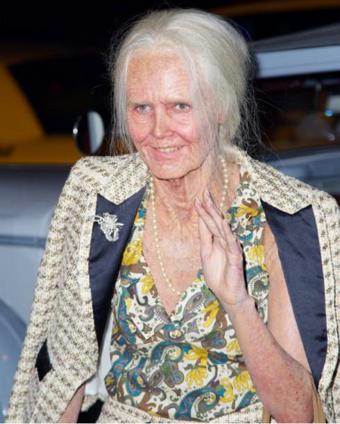 Heidi Klum Halloween 2013 Face