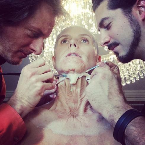 Heidi Klum Halloween Makeup