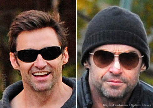 Hugh Jackman Nose Skin Cancer Before And After Removal Photos
