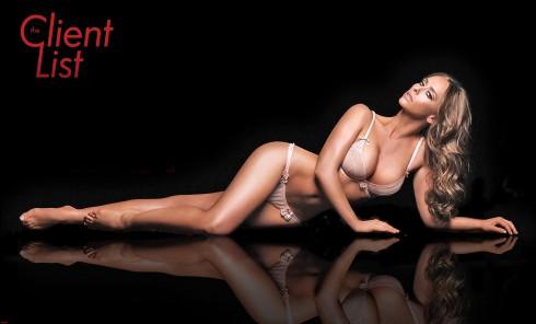 Jennifer Love Hewitt in lingerie for The Client List