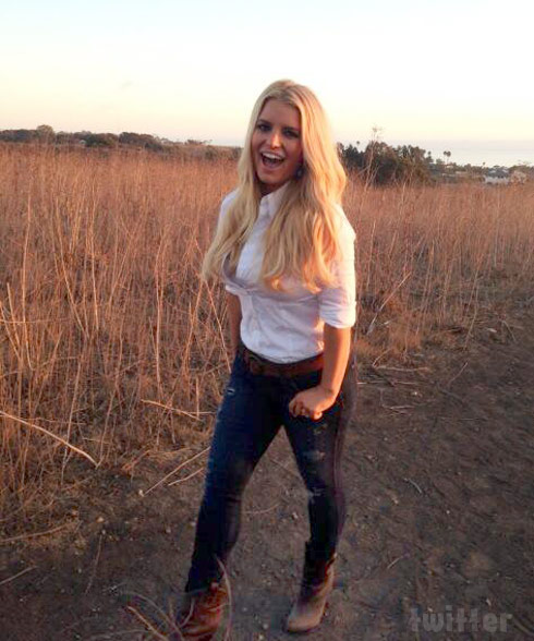 Jessica Simpson's weight loss for Weight Watchers ad