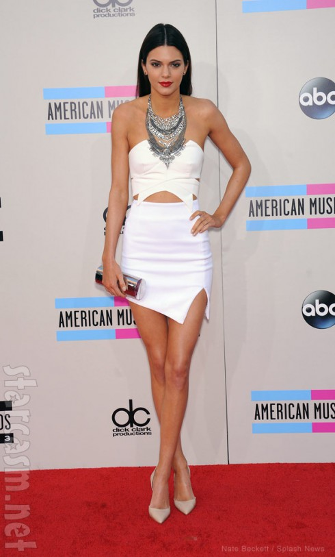 Kendall Jenner 2013 American Music Awards red carpet