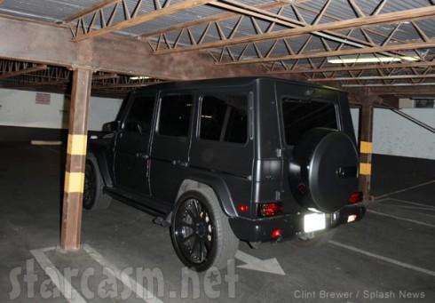 Kim Kardashian wrecks Mercedes in parking garage
