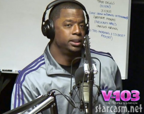 Kordell Stewart V-103 Ryan Cameron radio interview