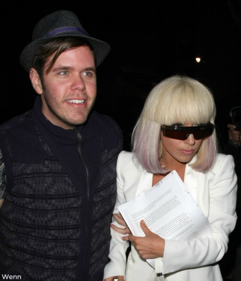 Lady Gaga and Perez Hilton - 2009
