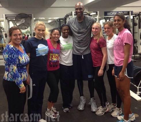 Lamar Odom NBA Return - URI