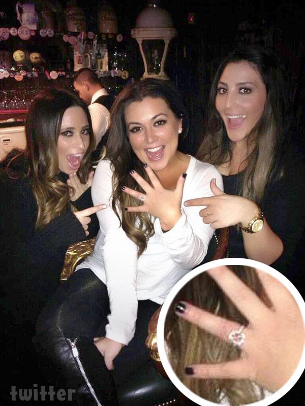 Photos Caroline Manzo S Daughter Lauren Manzo Engaged To