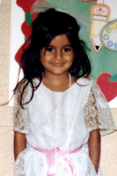 Lilly Ghalichi childhood photo Neelufar Ghalichi