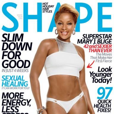 Mary J Blige - Shape December 2013 Cover