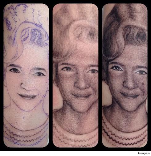 Miley Cyrus Tattoo - In Progress