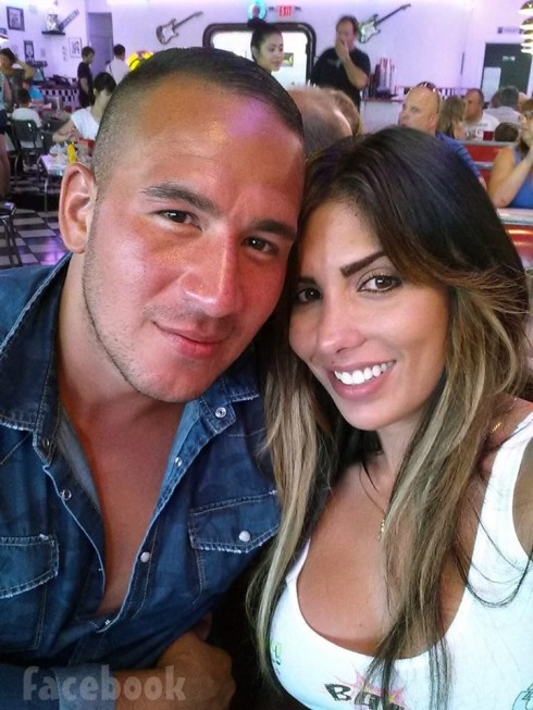 Mob Wives Natalie Guercio and boyfriend London Rene