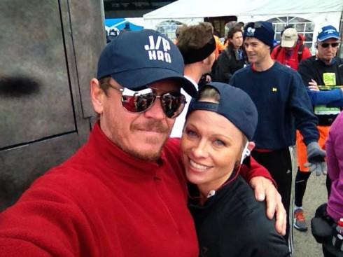 Pamela Anderson - ING Marathon