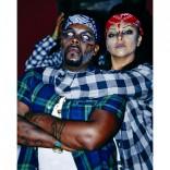 Rihanna chola gangsta zombie friends Halloween 2013 photo 10