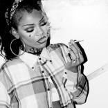 Rihanna smoking weed pot marijuana maybe