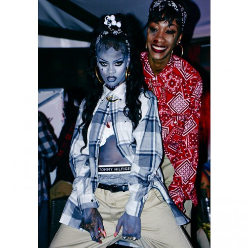 Rihanna chola gangsta zombie Halloween 2013 instagram photo 13