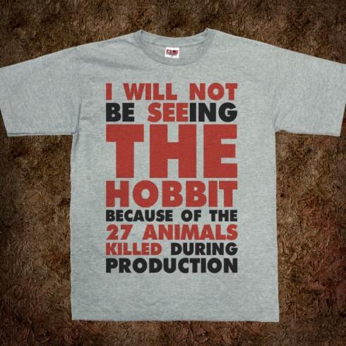 The Hobbit - Animals Killed - AHA Oversight