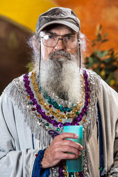 Uncle Si Robertson as a wise man