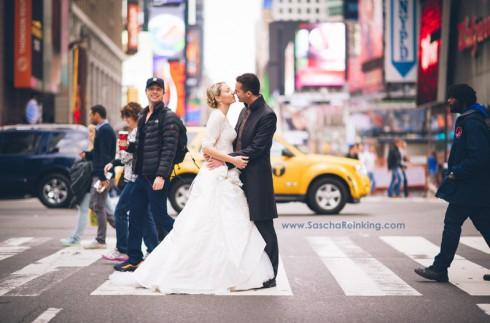 Zach Braff Photobomb Wedding - Sascha Reinking